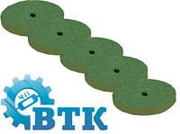 Резинка каучуковая полировальная 22х6 мм (зеленая)