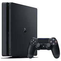 Консоль SONY PlayStation 4 Slim 1 ТB +игра FIFA 19 + контроллер DualShock 4