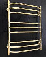 Золотий полотенцесушитель 500*700 Трапеція 9 АЗОКМ, фото 1