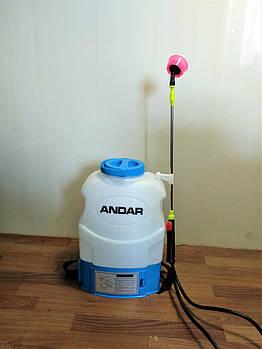 Опрыскиватель садовый Andar аккумуляторный 16 л новый