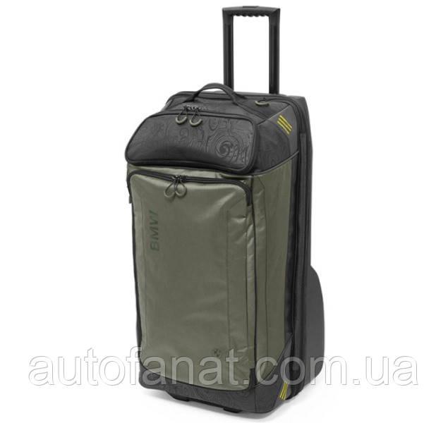 Туристическая сумка на колесиках BMW Active Travel Bag Trolley, Anthracite/Olive (80222446005)