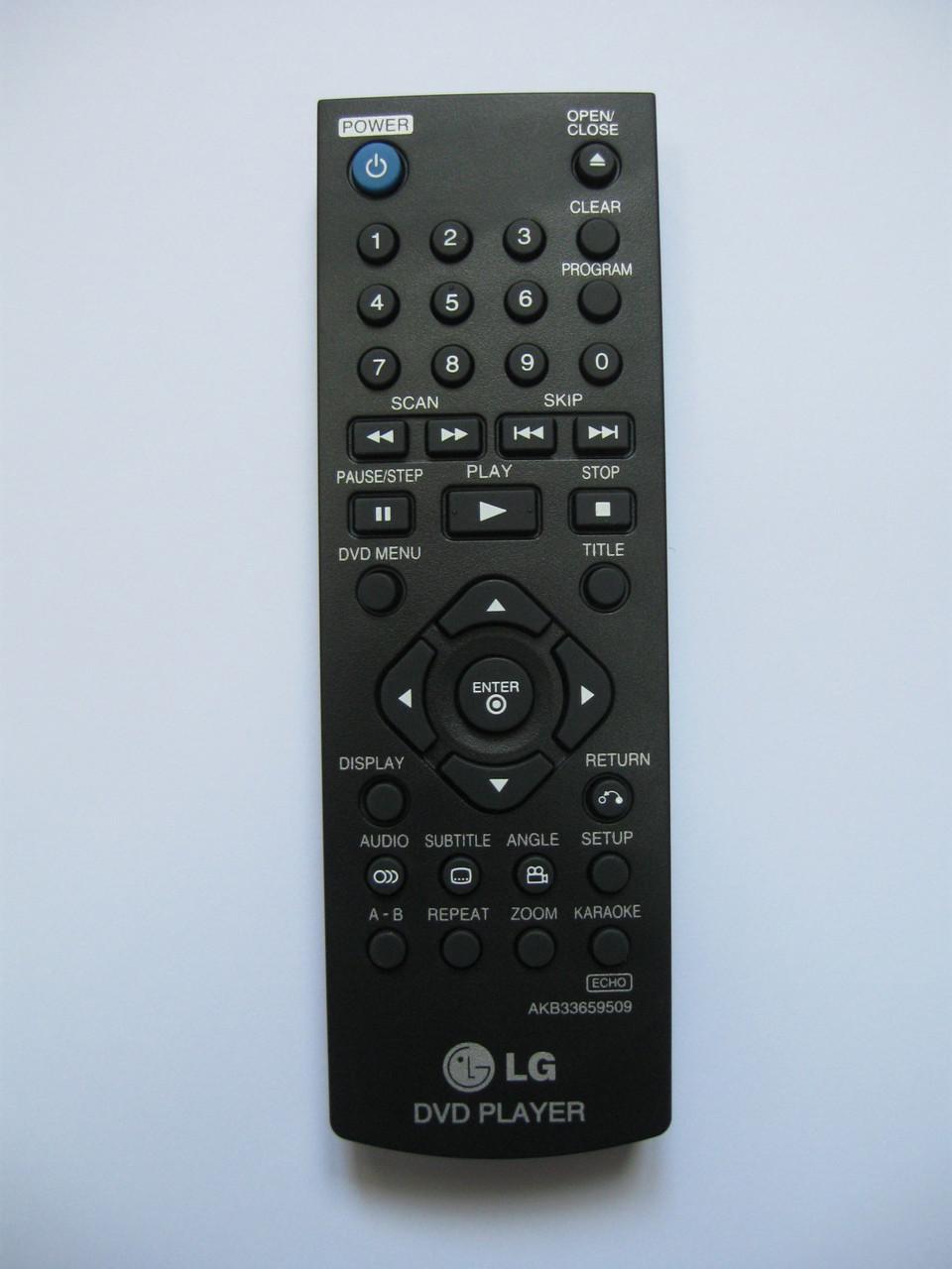 Пульт управления DVD плеера LG AKB33659509
