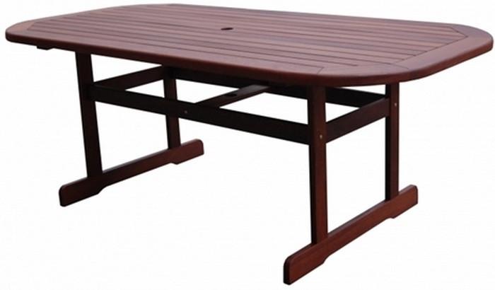 Садовый стол из дерева
