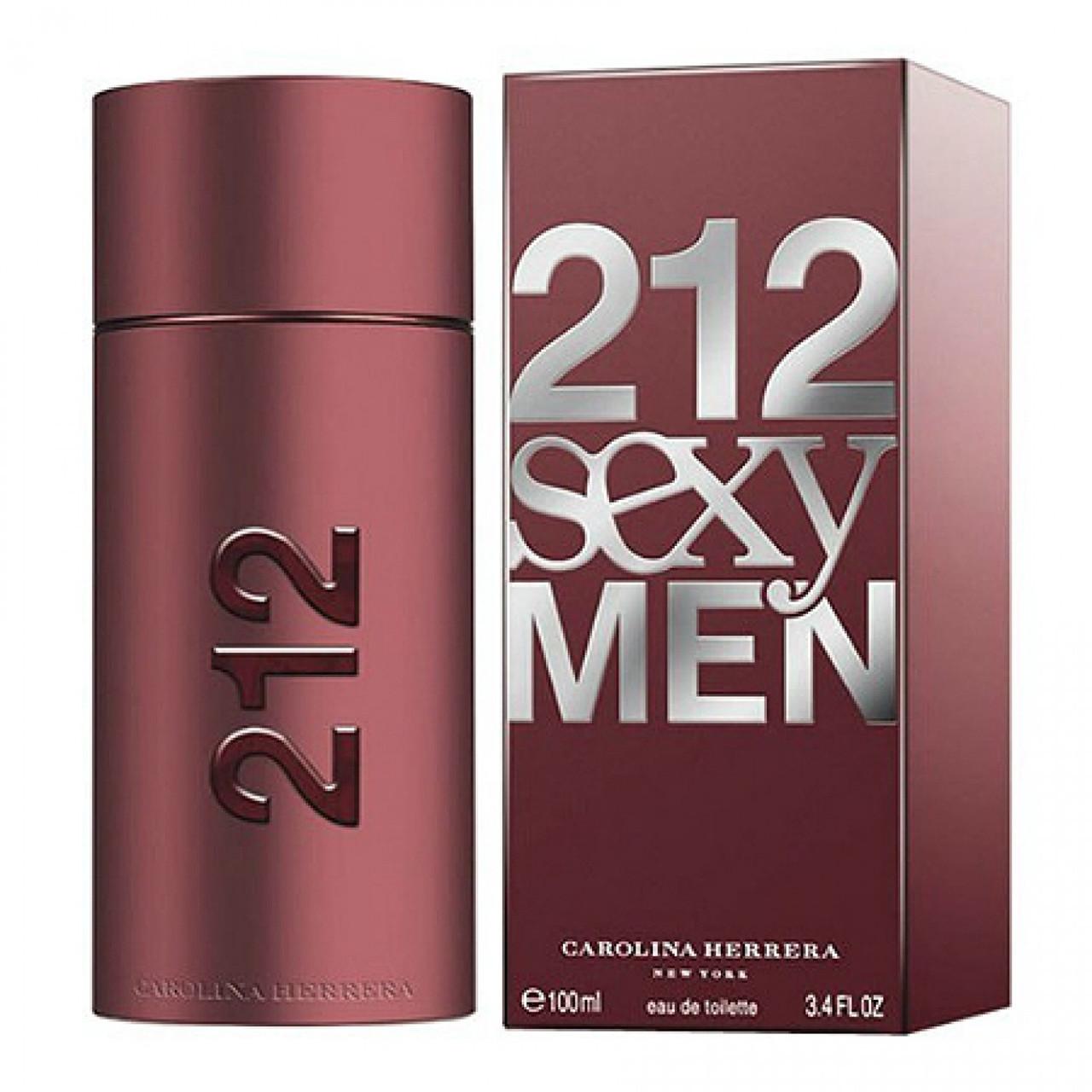 чоловічі парфуми Carolina Herrera 212 Sexy Magnetik Men 100 Ml цена