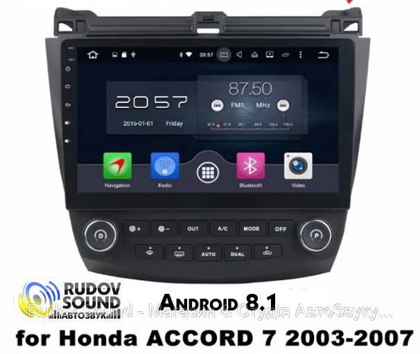 Штатная магнитола Honda Accord 7 Android