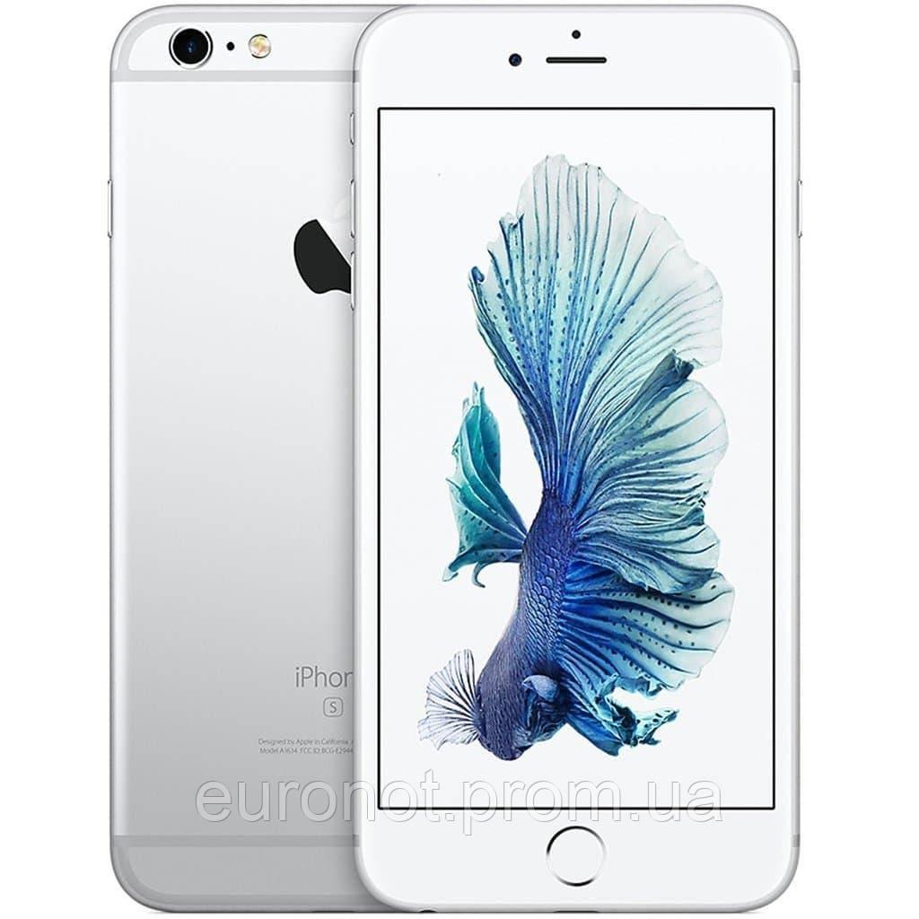Б/У Apple iPhone 6S White 64GB + защитное стекло в подарок!
