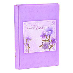 Альбом CHAKO 10*15/300 C46300RCG3-300  FLOWER Violet