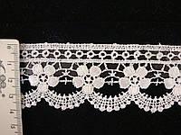 Кружево синтетическое 030 черного цвета, фото 1