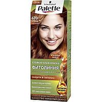 №670 Фарба для волосся Palette Naturals 6-70 Золотистий горіх 110 мл (4015100188844)