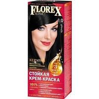 1.0 Крем-фарба для волосся Supermash Florex Super Чорна 120 мл (4823001601351)