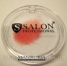 Ресницы цветные в банке 8 мм Salon Professional, розовые