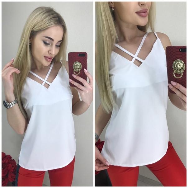 Женская модная блузка  АБ1035