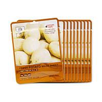 Тканевая маска с экстрактом картофеля 3W CLINIC Fresh Mask Sheet Potato