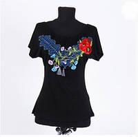 Вышиванка футболка  женская  3902 ( С.Е.С.)