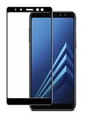 Защитное стекло Full Cover Samsung A8 2018 / A530 Black