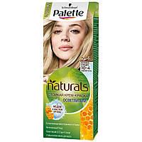 №254 Фарба для волосся Palette Naturals 10-4 Бежевий блондин 110 мл (3838824124360)