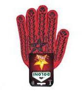 Перчатки <<звезда Днепр>> красные