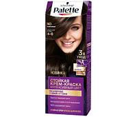 Фарба для волосся Palette N-3 (4-0) Каштановий 110 мл (3838905551573)