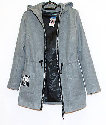 Куртка - кардиган весна осень 237 (серый)(44.48), фото 3