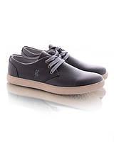 Черные кеды на шнуровке, фото 1