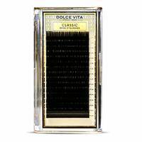 Ресницы для наращивания премиум-класса Dolce Vita на ленте MIX
