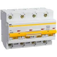 Автоматический выключатель ВА47-100 C 4P 100А 10кА IEK