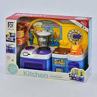 Кухня детская с посудой Звуковые эффекты Разноцветный (2-818-93-73403)