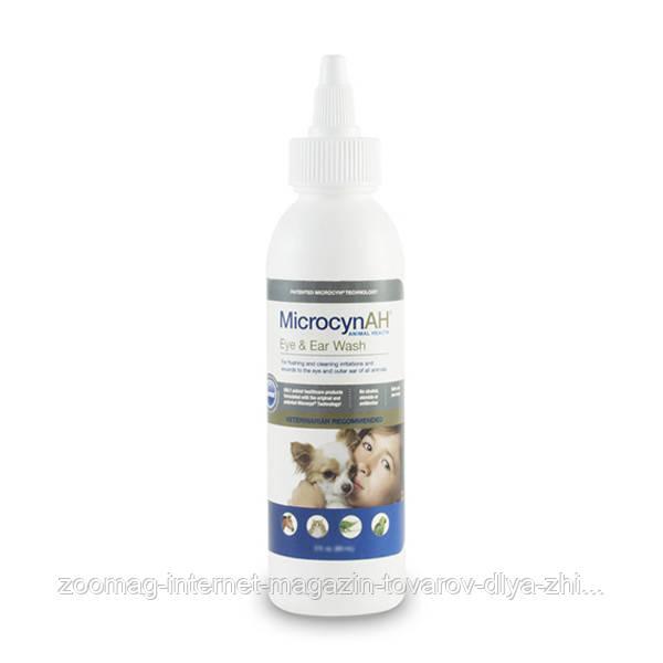 Microcyn Eye&Ear Wash капли для глаз и ушей всех видов животных (90 мл)