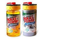 Гель для мытья посуды Maxi Power Spulmittel1000мл.+ губка в ассортименте