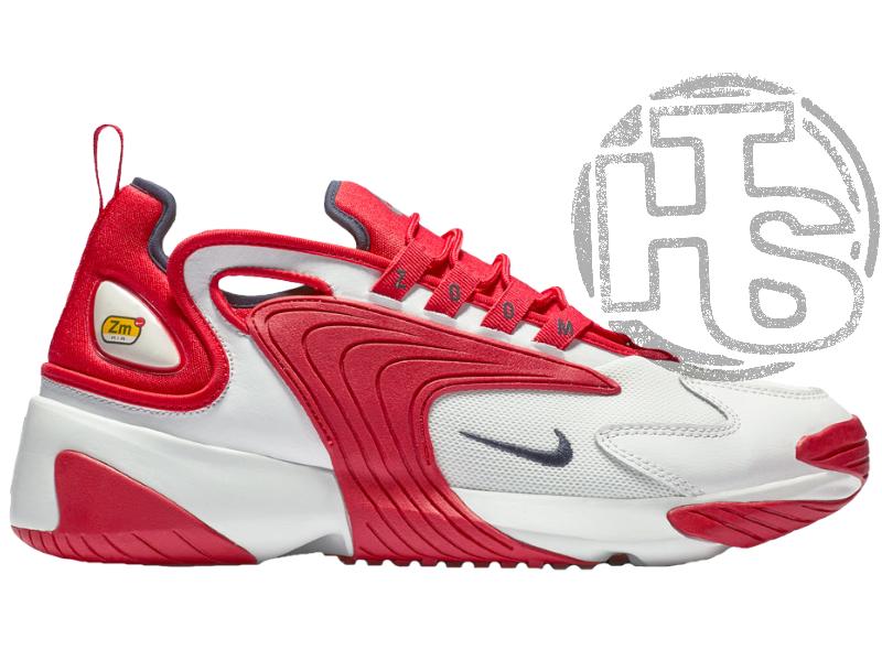 Мужские кроссовки Nike Zoom 2K White/Red AO0269-102