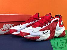 Мужские кроссовки Nike Zoom 2K White/Red AO0269-102, фото 2
