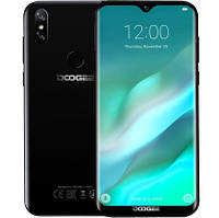 "Смартфон Doogee Y8 3/16Gb Black, 8+5/8Мп, 6.1"" IPS, 2SIM, 4G, 3400мАh, 4 ядрa, MT6739, фото 1"