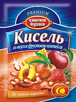 Кисель со вкусом фруктового коктейля ТМ Смачна кухня