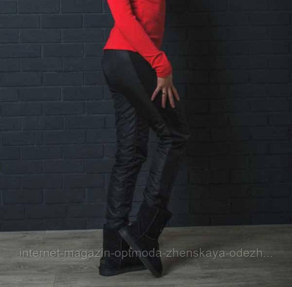 Жіночі штани із завищеною талією