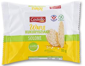 Вафли Castello Kukurydziane 35 g