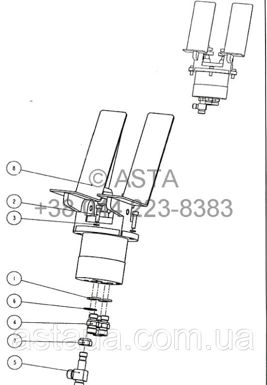 Тормозная педаль W14F84