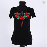 Вышиванка  футболка  женская  трикотаж 949 ( С.Е.С.)