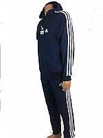 Спортивный костюм адидас,adidas ,три полосы, классика,трикотажный ,размер 46-52,капюшон производство Турция.