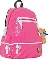 """Рюкзак подростковый  ХО55 """"Oxford"""" розовый, 43*32*17см, фото 1"""