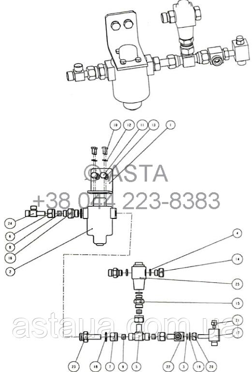 Перепускной клапан W14F8A4