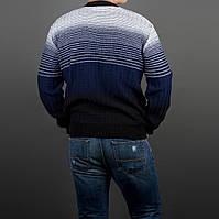 Стильный весенний мужской свитер до 3ХЛ