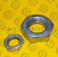 Гайки шестигранные низкие ГОСТ 5916-70, DIN 936