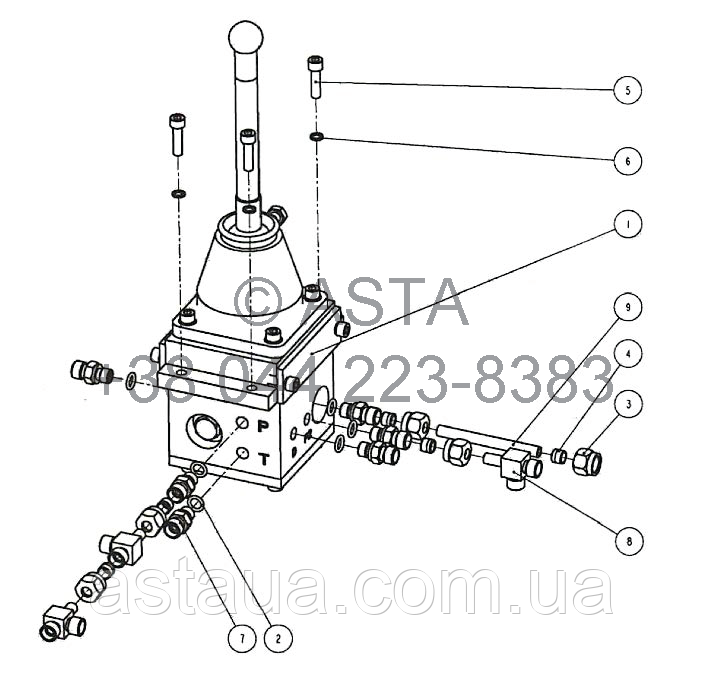 Клапан переключения передач W14F8A5