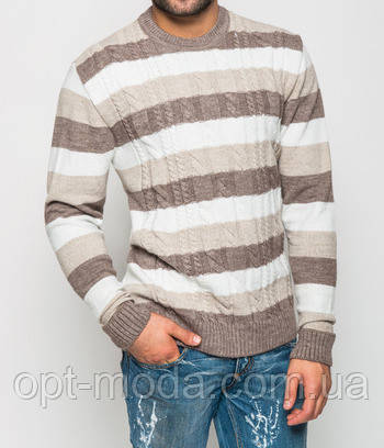 Теплый мужской свитер М
