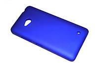 Пластиковый чехол для Microsoft Lumia 640 синий, фото 1
