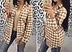 Женская клетчастая рубашка, фото 3