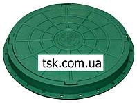 Люк садовый пластмассовый легкий (зеленый)