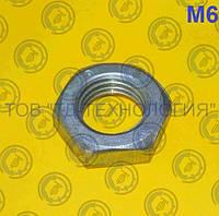 Гайки шестигранные низкие ГОСТ 5916-70, DIN 439, 936 М6