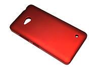 Пластиковый чехол для Microsoft Lumia 640 бордовый, фото 1