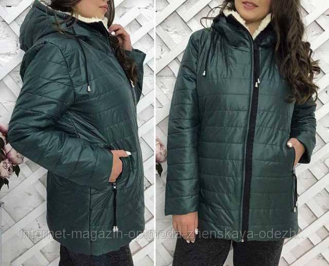 Зимние куртки полубатал